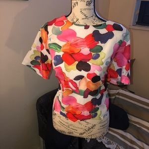 Tops - Women's floral top